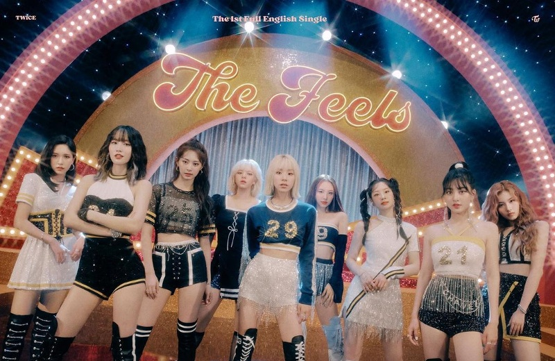 TWICE lanza 'The Feels', su primer sencillo en inglés (+video)
