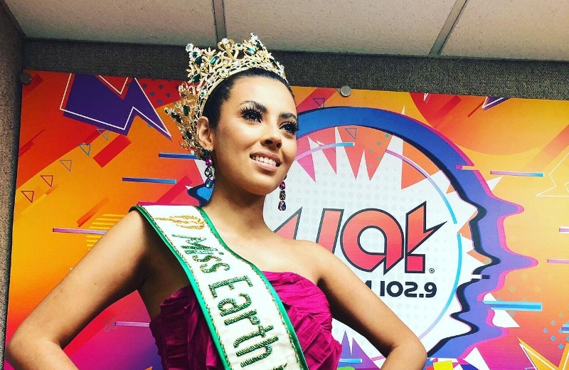 Miss Earth Mexico 2022 es orgullosamente veracruzana y visitó la cabina impactante