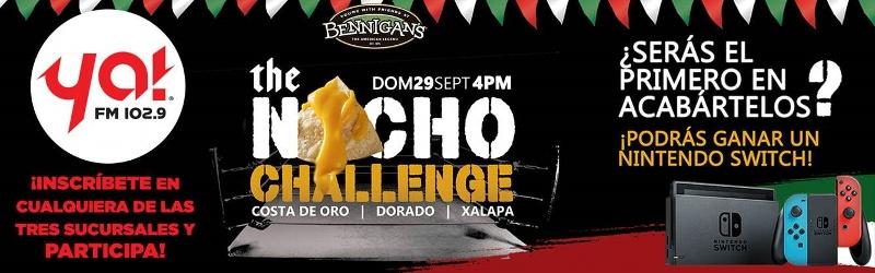Nacho Challenge con Bennigan's